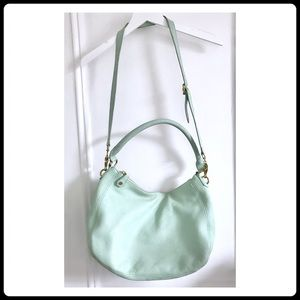 J. Crew Biennial hobo Bag In Pretty Mint Color